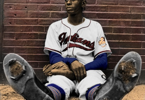 Satchel Paige colorization